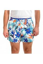 "Hugo Boss Men's ""Solarfish"" Multi-Color Swim Board Shorts"