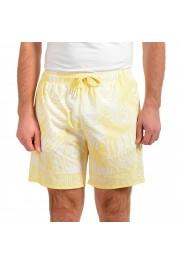 """Hugo Boss Men's """"SOMA"""" Multi-Color Floral Print Swim Board Shorts"""
