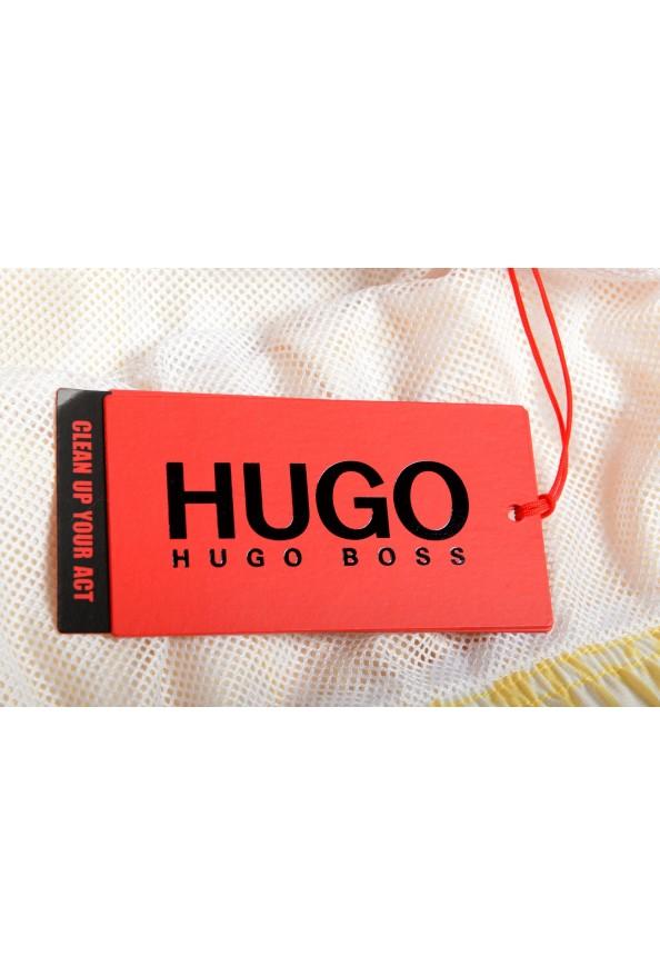 "Hugo Boss Men's ""SOMA"" Multi-Color Floral Print Swim Board Shorts: Picture 4"