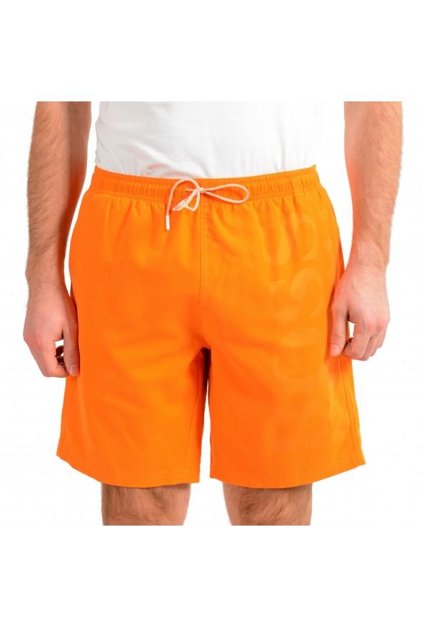 "Hugo Boss Men's ""Orca"" Bright Orange Swim Board Shorts"