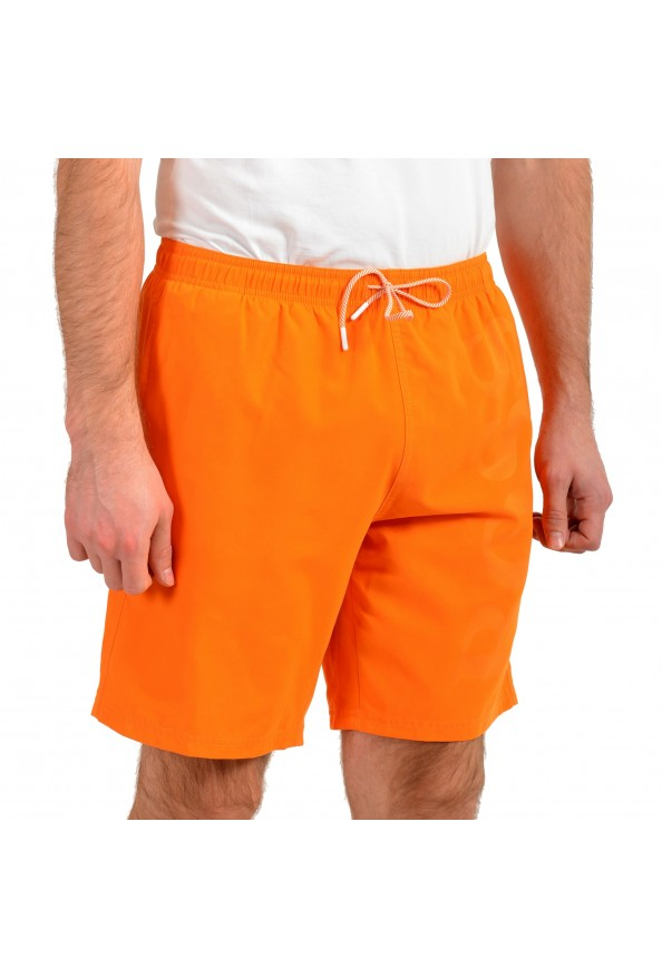 """Hugo Boss Men's """"Orca"""" Bright Orange Swim Board Shorts: Picture 2"""