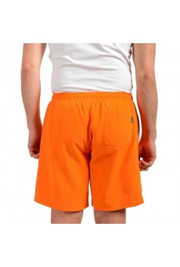 """Hugo Boss Men's """"Orca"""" Bright Orange Swim Board Shorts: Picture 3"""