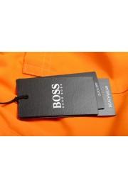 """Hugo Boss Men's """"Orca"""" Bright Orange Swim Board Shorts: Picture 4"""