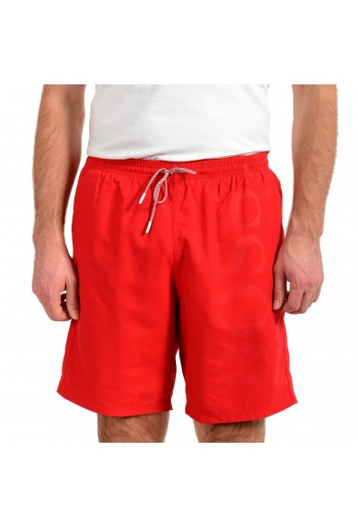 "Hugo Boss Men's ""Orca"" Bright Red Swim Board Shorts"