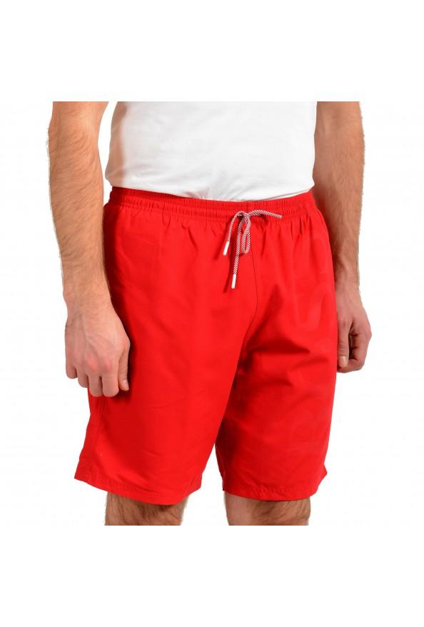 """Hugo Boss Men's """"Orca"""" Bright Red Swim Board Shorts: Picture 2"""