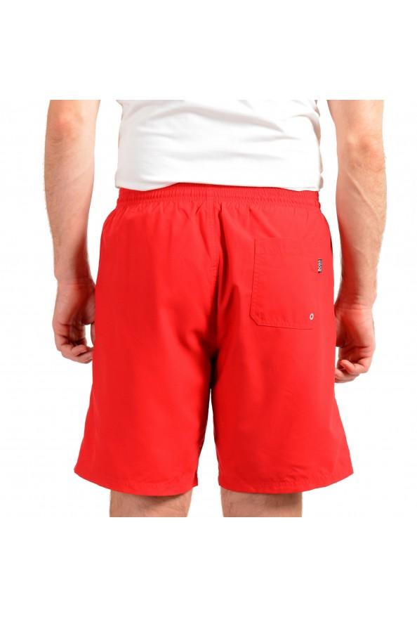 """Hugo Boss Men's """"Orca"""" Bright Red Swim Board Shorts: Picture 3"""