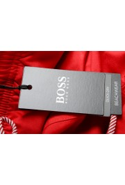 """Hugo Boss Men's """"Orca"""" Bright Red Swim Board Shorts: Picture 4"""