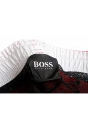 """Hugo Boss Men's """"Orca"""" Bright Red Swim Board Shorts: Picture 5"""