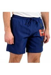 "Hugo Boss Men's ""Kanji Woven"" Blue Swim Board Shorts : Picture 2"