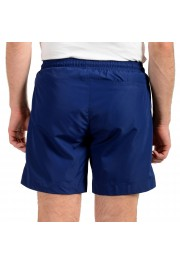 "Hugo Boss Men's ""Kanji Woven"" Blue Swim Board Shorts : Picture 3"