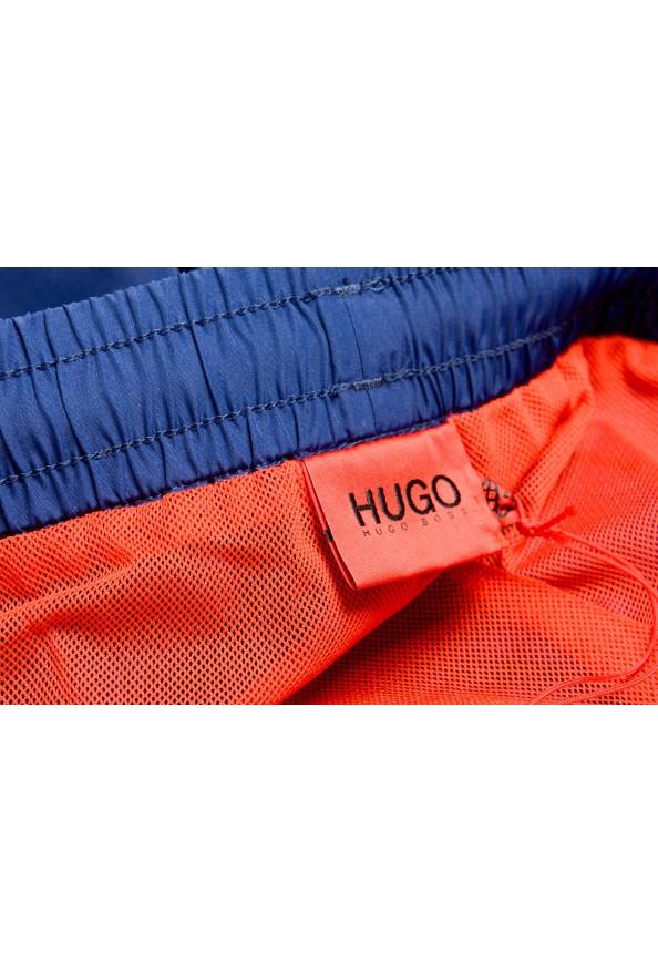 "Hugo Boss Men's ""Kanji Woven"" Blue Swim Board Shorts : Picture 4"