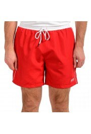 "Hugo Boss Men's ""Starfish"" Bright Red Swim Board Shorts"