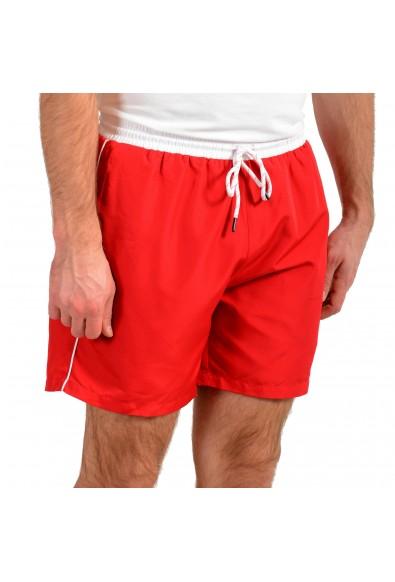"Hugo Boss Men's ""Starfish"" Bright Red Swim Board Shorts : Picture 2"