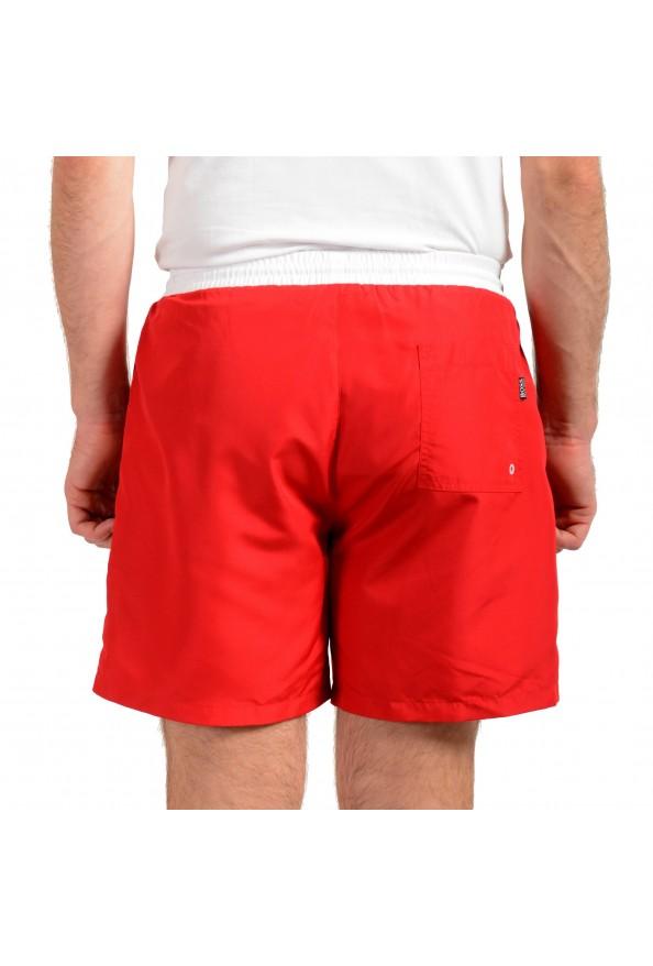 "Hugo Boss Men's ""Starfish"" Bright Red Swim Board Shorts : Picture 3"