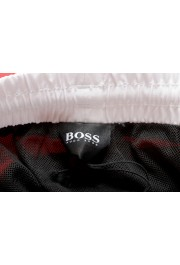 "Hugo Boss Men's ""Starfish"" Bright Red Swim Board Shorts : Picture 5"