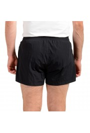 "Hugo Boss Men's ""Mooneye"" Black Logo Print Swim Board Shorts: Picture 3"
