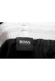 "Hugo Boss Men's ""Mooneye"" Black Logo Print Swim Board Shorts: Picture 5"