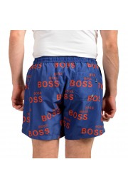"Hugo Boss Men's ""Rayfish"" Multi-Color Logo Print Swim Board Shorts: Picture 3"