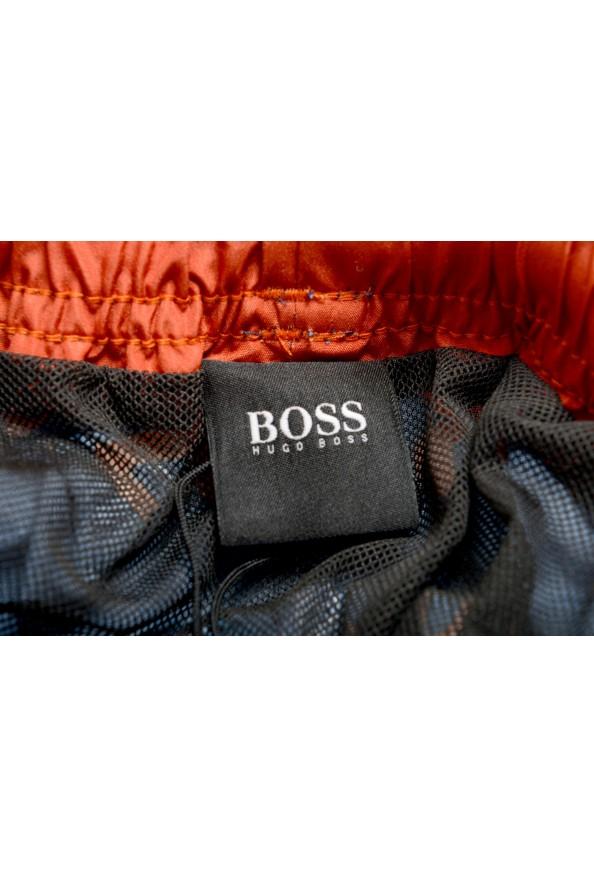 "Hugo Boss Men's ""Rayfish"" Multi-Color Logo Print Swim Board Shorts: Picture 5"
