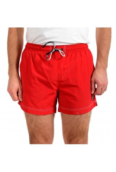 "Hugo Boss Men's ""Tuna"" Bright Red Swim Board Shorts"