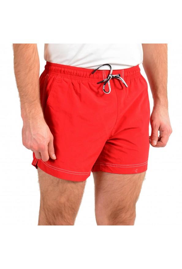 """Hugo Boss Men's """"Tuna"""" Bright Red Swim Board Shorts: Picture 2"""