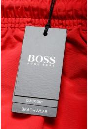 """Hugo Boss Men's """"Tuna"""" Bright Red Swim Board Shorts: Picture 4"""