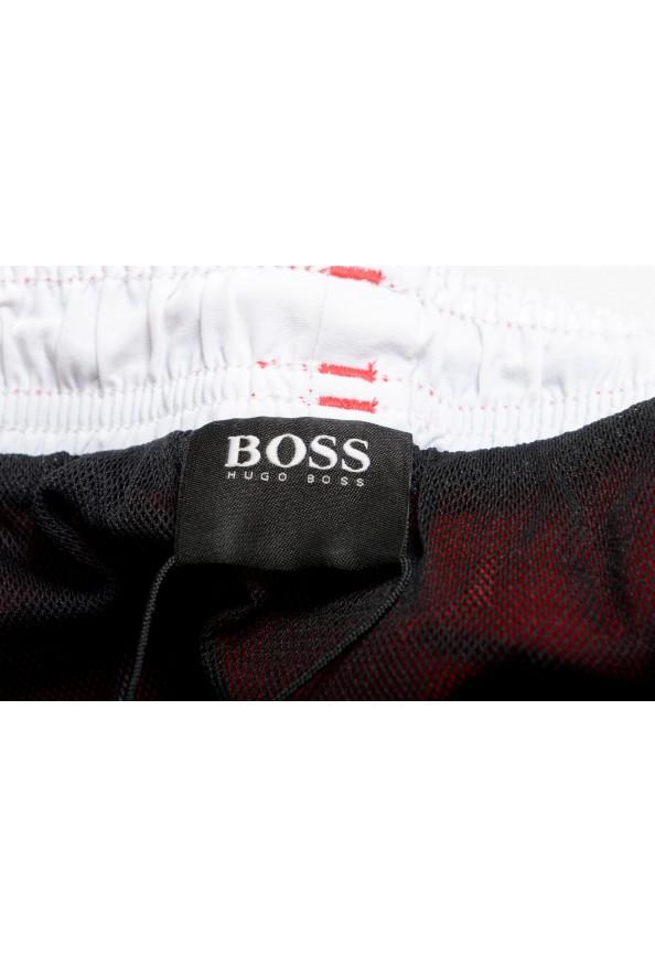 """Hugo Boss Men's """"Tuna"""" Bright Red Swim Board Shorts: Picture 5"""
