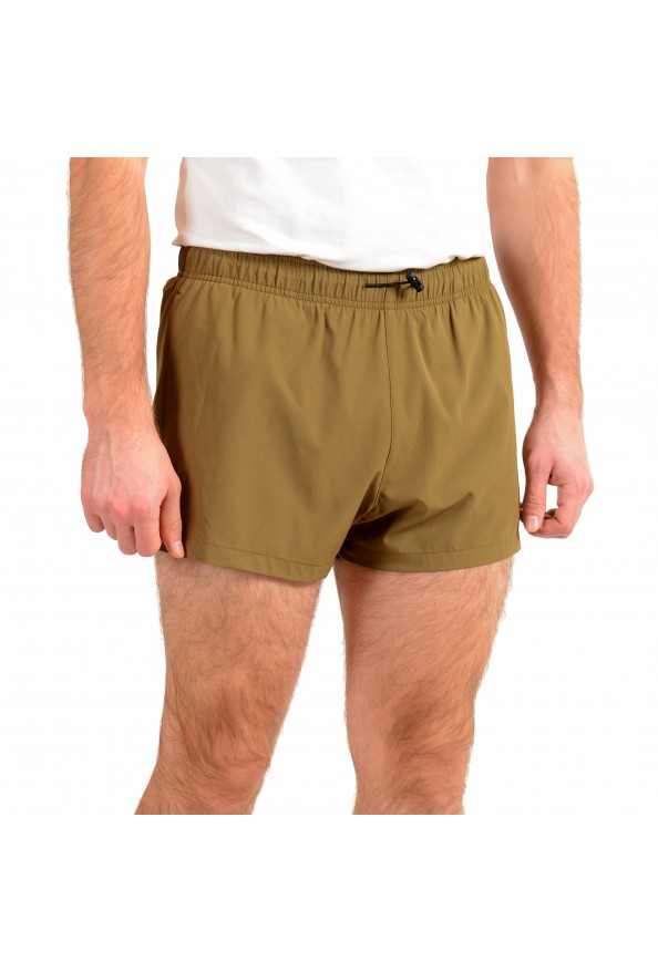 "Hugo Boss Men's ""Yoji"" Olive Green Swim Board Shorts: Picture 2"
