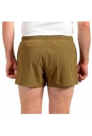 "Hugo Boss Men's ""Yoji"" Olive Green Swim Board Shorts: Picture 3"