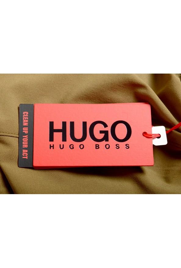 "Hugo Boss Men's ""Yoji"" Olive Green Swim Board Shorts: Picture 4"