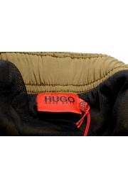 "Hugo Boss Men's ""Yoji"" Olive Green Swim Board Shorts: Picture 5"