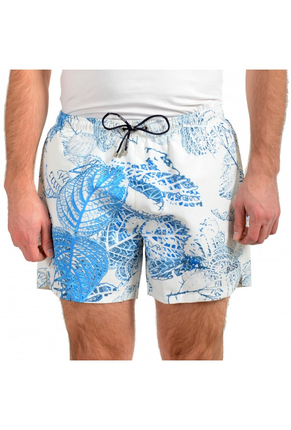 "Hugo Boss Men's ""Springfish"" Multi-Color Swim Board Shorts"