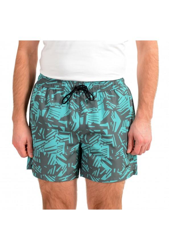 "Hugo Boss Men's ""Lionshark"" Green Swim Board Shorts"