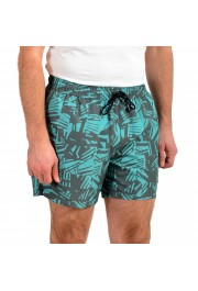 "Hugo Boss Men's ""Lionshark"" Green Swim Board Shorts : Picture 2"
