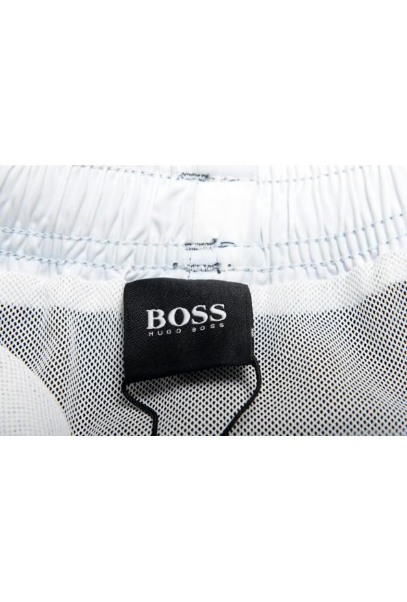 "Hugo Boss Men's ""Bluefish"" Two Tone Logo Print Swim Board Shorts: Picture 5"