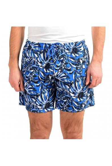 "Hugo Boss Men's ""Leaffish"" Multi-Color Swim Board Shorts"