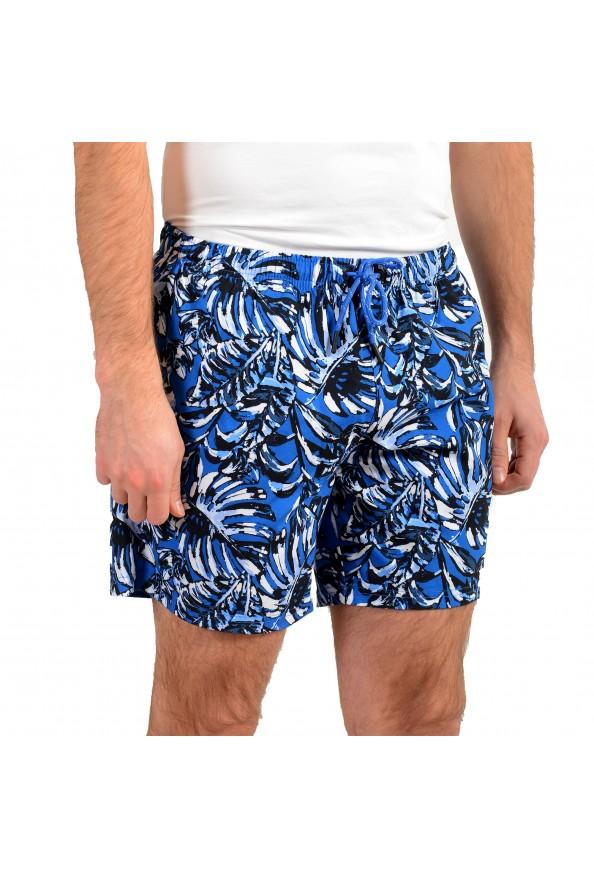"Hugo Boss Men's ""Leaffish"" Multi-Color Swim Board Shorts: Picture 2"