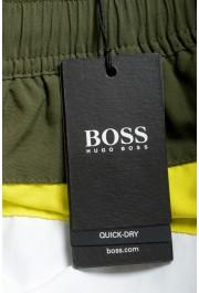 """Hugo Boss Men's """"Filefish"""" Striped Multi-Color Swim Board Shorts : Picture 4"""