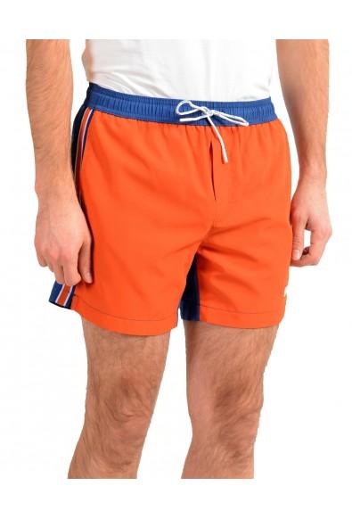"Hugo Boss Men's ""Bluefish"" Two Tone Logo Print Swim Board Shorts: Picture 2"