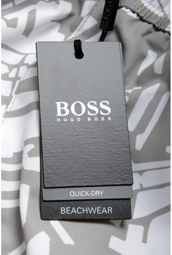 "Hugo Boss Men's ""Lionshark_TR"" Multi-Color Swim Board Shorts: Picture 4"