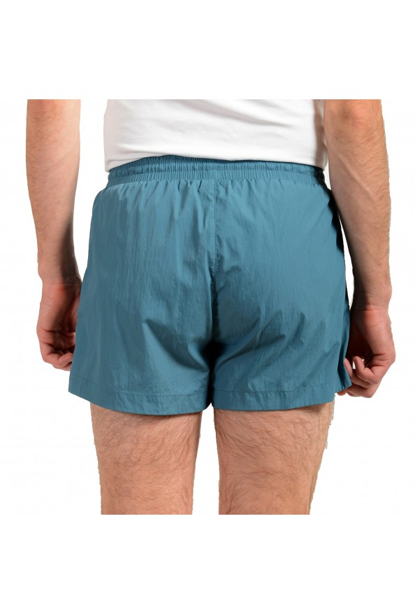 "Hugo Boss Men's ""Mooneye"" Cloud Blue Logo Print Swim Board Shorts: Picture 3"