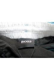 "Hugo Boss Men's ""Mooneye"" Cloud Blue Logo Print Swim Board Shorts: Picture 5"