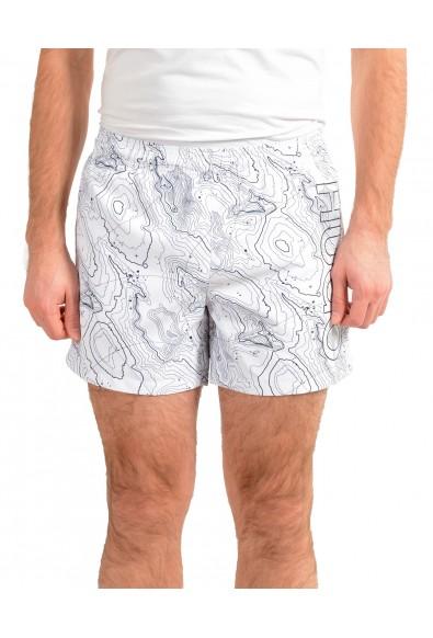 "Hugo Boss Men's ""SAIKAI"" Multi-Color Swim Board Shorts"