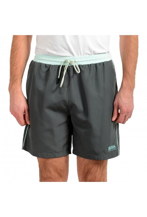 "Hugo Boss Men's ""Starfish"" Gray Swim Board Shorts"