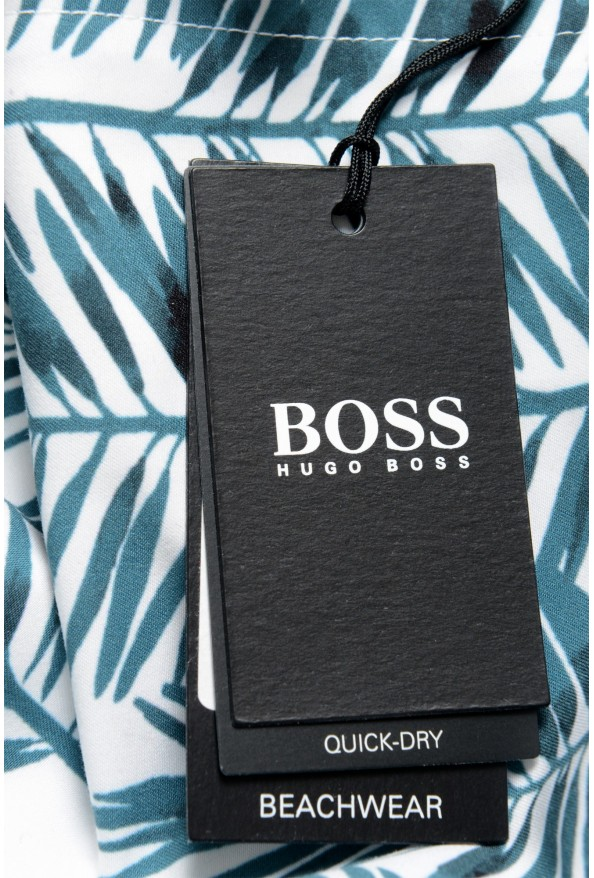 """Hugo Boss Men's """"Piranha"""" Multi-Color Swim Board Shorts: Picture 4"""