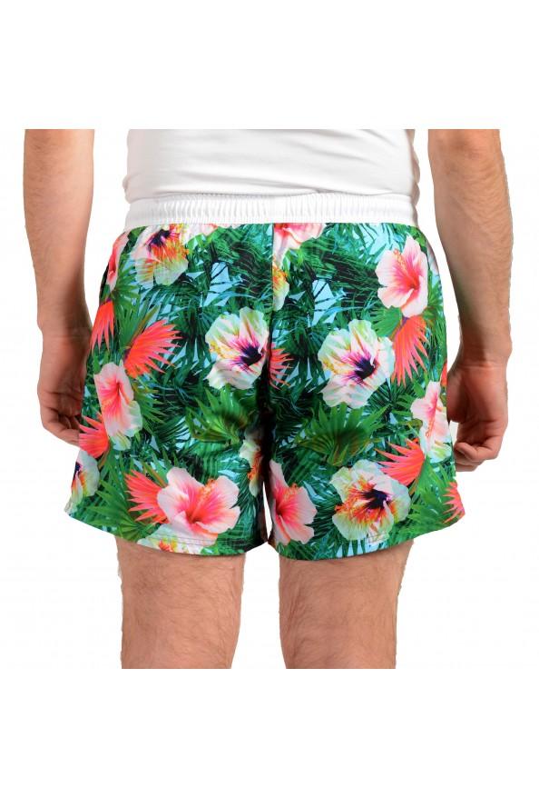 """Hugo Boss Men's """"Piranha"""" Multi-Color Floral Print Swim Board Shorts: Picture 3"""