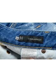 "Dsquared2 Women's ""Super Slim Jean"" Distressed Blue Skinny Jeans: Picture 5"
