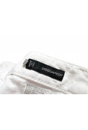 """Dsquared2 Women's """"Cool Girl Jean"""" White Skinny Jeans: Picture 4"""