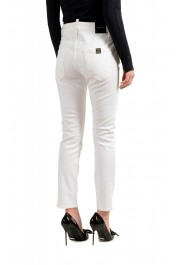 """Dsquared2 Women's """"Cool Girl Jean"""" White Skinny Jeans: Picture 3"""