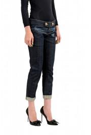 "Dsquared2 Women's ""Pat Jean"" Dark Blue Skinny Jeans: Picture 2"